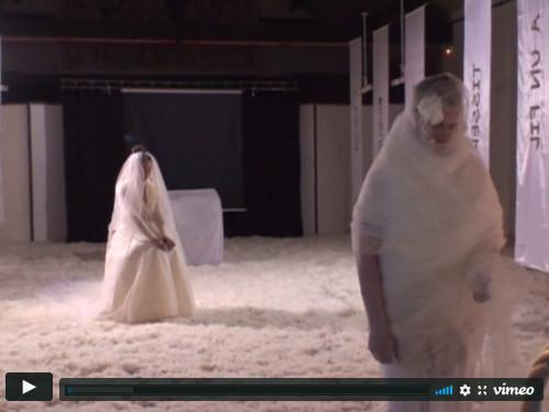 Vierge Mariée - performance Claire Journer